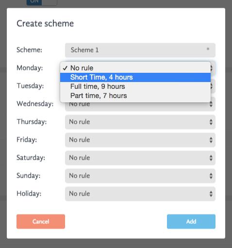 Assign scheme